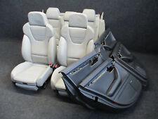 RECARO Lederausstattung Audi A4 S4 B6 8E LEDER Sportsitze Ausstattung Sitz grau