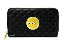 MIMCO REVOLUTION MIM LEATHER WALLET IN BLACK BNWT RRP$169