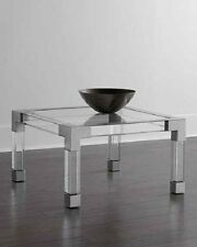 Jonathan Adler Jacques Lucite U0026 Nickel Coffee Table Neiman Marcus Horchow