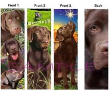 3 Fun-LABRADOR RETRIEVER BOOKMARK CHOCOLATE LAB Brown Dog Book Card ART Figurine