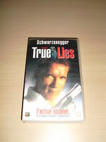 TRUE LIES VHS Arnold Schwarzenegger Jamie Lee Curtis James Cameron 1994