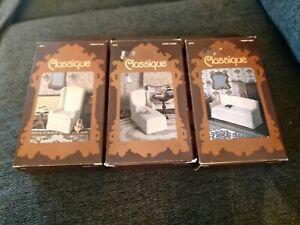 3 Millie August Miniatures Classique Dollhouse Furniture Kits #3072,3073,3074