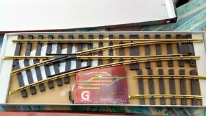 Piko G scale 35222 point used indoors only. Boxed & complete with accessories