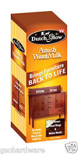 Dutch Glow DFG Amish Wood Milk, 12 Oz Cleans and polishes wood Removes water mar