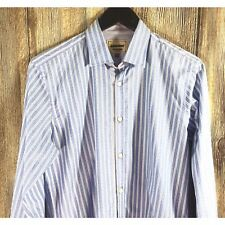 c043d46aca12f2 Archive Ted Baker London Men s Striped Long Sleeve Shirt French Cuff Size  15.5