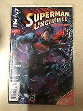 SUPERMAN UNCHAINED # 1 COMBO PACK EDITION FIRST PRINT DC COMICS