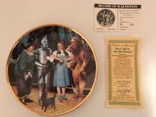 The Wizard of Oz Hamilton Collection Plate: We're Off to See the Wizard