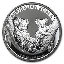 2011 Australia 10 oz Silver Koala BU - SKU #59017