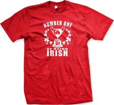 Number One At Bring Irish- #1 Award Funny St. Patricks Day - Men's T-shirt