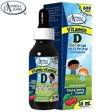Vitamin D 500 I.U.Concentrated Kids Drops 30 ml - Omega Alpha Pharmaceuticals