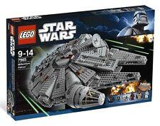 Lego Star Clone Wars 7965 Millenium Falcon Darth Vader Han Solo Leia Luke NISB