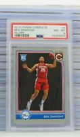 2016-17 Complete Ben Simmons Silver Rookie Card RC PSA 8 #4