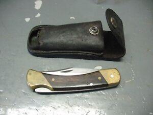 SCHRADE  UNCLE  HENRY  LB7  FOLDING  KNIFE No. Y 96090  w/ ORIGINAL  SHEATH