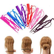 4Pcs/Set Hair Twist Styling Clip Stick Bun Maker Braid Tools Hair Accessories