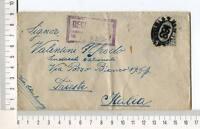 24723) USA 1924 Registered Cover New York Trieste 22.2.1924