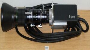 SONY XC-007P 3CCD Kamera-Macro Fujinon-tv.z (607)