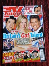 April TV Times Film & TV Magazines