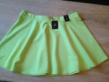 Atmosphere Patternless Short/Mini Plus Size Skirts for Women