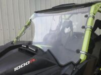 """A&S Can AM Maverick Max 1000r 1/4"""" POLYCARBONATE  FULL  Windshield 2013-2018"""