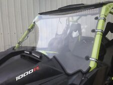 """2013-2018 Can AM Maverick Max 1000r 1/4"""" POLYCARBONATE  FULL  Windshield"""