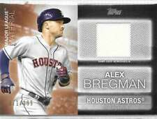 2020 Topps Series 2 Major League Material Black /199 #MLM-AB Alex Bregman Astros