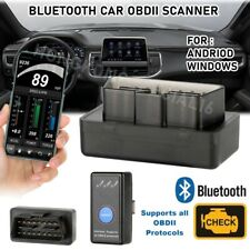 Car Bluetooth OBD2 Code Reader Scanner Automotive Diagnostic Tool OBDII ELM 327