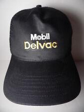 MOBIL DELVAC Heavy Duty Diesel Engine Oils Advertising SNAPBACK TRUCKER HAT CAP