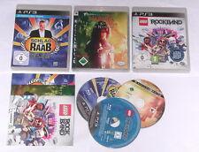 3 Spitzen KINDER Spiele für Playstation 3 z.B. LEGO; SCHLAG DEN RAAB; NARNIA
