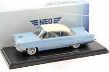Lincoln Premiere hardtop año de fabricación 1956 azul claro/blanco 1:43 neo