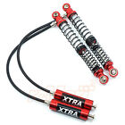 Xtra Speed 110mm Adjustable Piggyback Dual Springs Damper Red RC Car #XS-59644RD