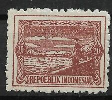 Ned. Indie Repoeblik Indonesia Java- Madoera Zonnebloem 26