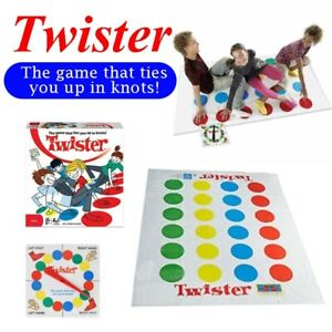 Outdoor Game Twister Board Game Kids Adult Family Party Team Educational Toy NEW