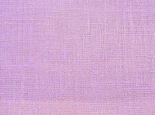 Stunning LIGHT ORCHID PURPLE Light Weight 60% LINEN 40% COTTON Solid Fabric