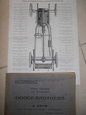 catalogue pièce détaché autododge brothers ( ref 8 )