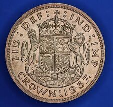More details for 1937 george vi 50% silver crown 5 shillings 5/- coin *[22926]