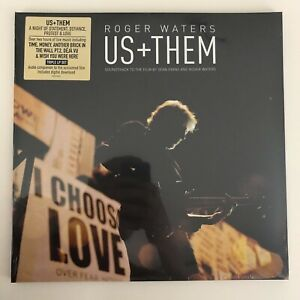 Roger Waters - Us + Them Live 3LP Vinyl Record [NEW/SEALED] Pink Floyd