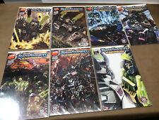 Transformers Energon 20 22 24 25 26 27 30 (2002 DW series) lot set run