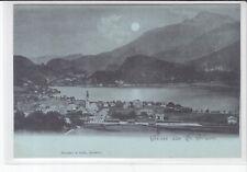 AK St. Gilgen, Wolfgangsee, Mondschein-AK um 1900