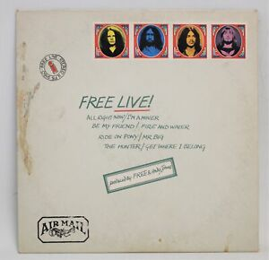 FREE 'Free Live' 1971 Vinyl LP in Envelope Sleeve A1/B1 + Inner Sleeve  - D39