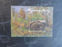 2013 HUNGARY FAUNA OF HUNGARY FAUNA MINI SHEET USED STAMP