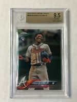 RONALD ACUNA JR 2018 Topps Chrome Update SP RC #HMT25! BGS GEM MINT 9.5! INVEST!