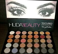 Huda Beauty Rose Gold Edition Textured Eye Shadows Palette 35 Colours UK 35w