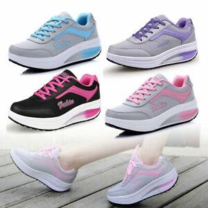 casual Scarpe Donna Sneakers Sportive Ginnastica Dimagranti Running Traspiranti