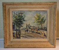Juan Sevilla SAEZ (*1922) Ölgemälde Paris