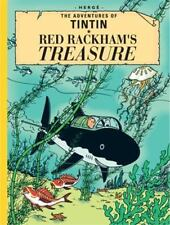 Red Rackham's Treasure by Hergé - Collector's Giant Facsimile Edition
