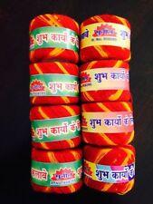 8 Mauli Moli Kalawa Hindu Religious Red Cotton Puja Thread Band Rakhi USA Seller