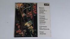 Vivaldi Weber Ernest Ansermet Decca Unboxed SXL 6375 1969 LP