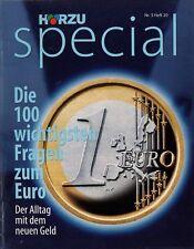 Beilage zur Hörzu Nr. 5 Heft 20 1998 Fragen zum Euro Finanzwelt Geld Kredite