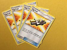 Pokemon Cosmic Eclipse X4 Play Set Tag Call 206/236 NM/M Trainer