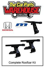 Full Roof Rack Bar Kit SUM101 Mountney Direct Fit ~ HONDA CIVIC 1996 - 2000